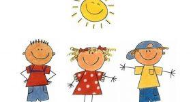 Niños con sol