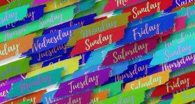 Semana colorida