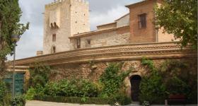 vista del castillo de cortes